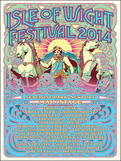 Every Isle Of Wight Festival Poster And Line Up In History