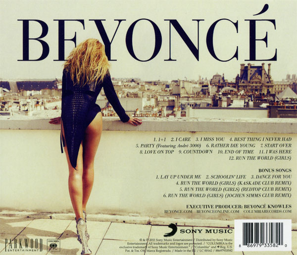 Beyoncé Deluxe Beyoncé: The Biggest And Best Bums On Album Artwork Of All Time