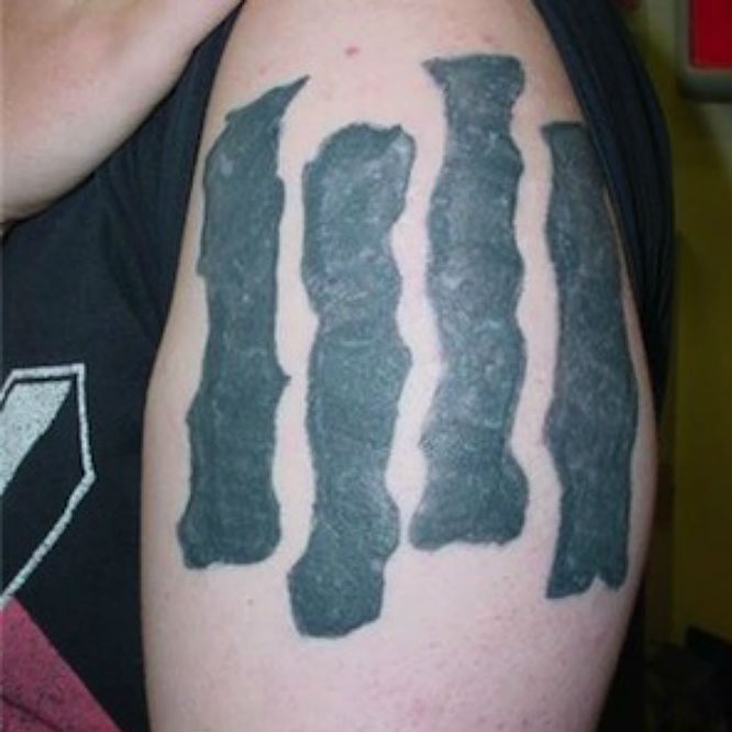 Dave Grohl Black Flag Tattoo