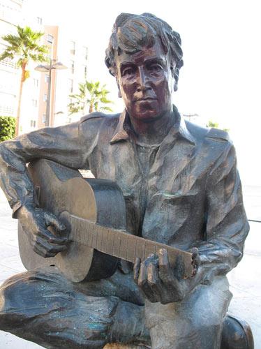 vandalised john lennon statue to be removed gigwise