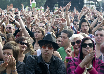 Manu Chao, Human League & Young Knives @ Lovebox 2008 ...